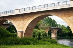 Limeuil - Zusammenfluss der Flüsse