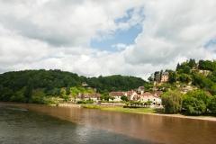Limeuil - Wasser von Dordogne und Vézère