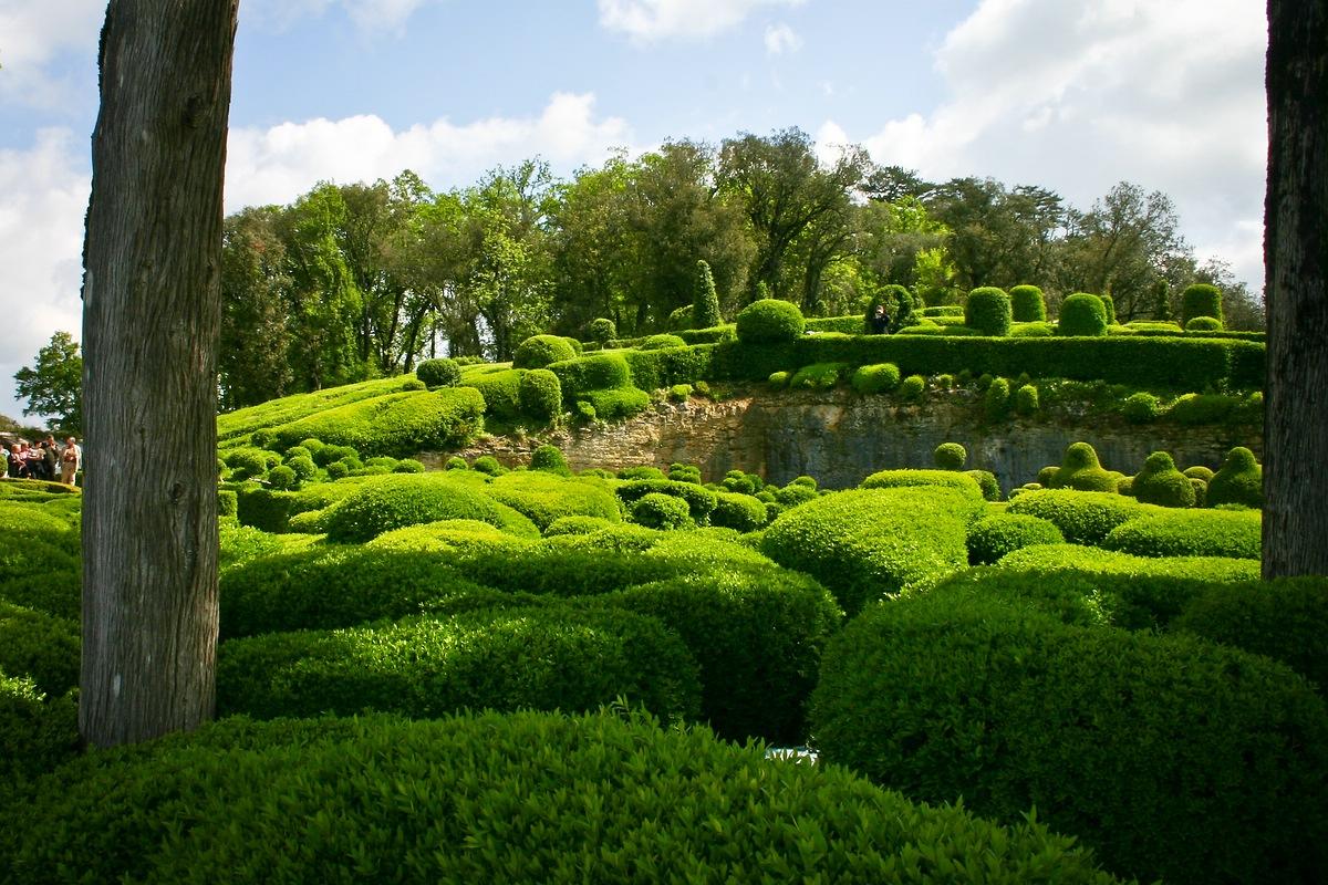 Garten von Schloss Marqueyssac