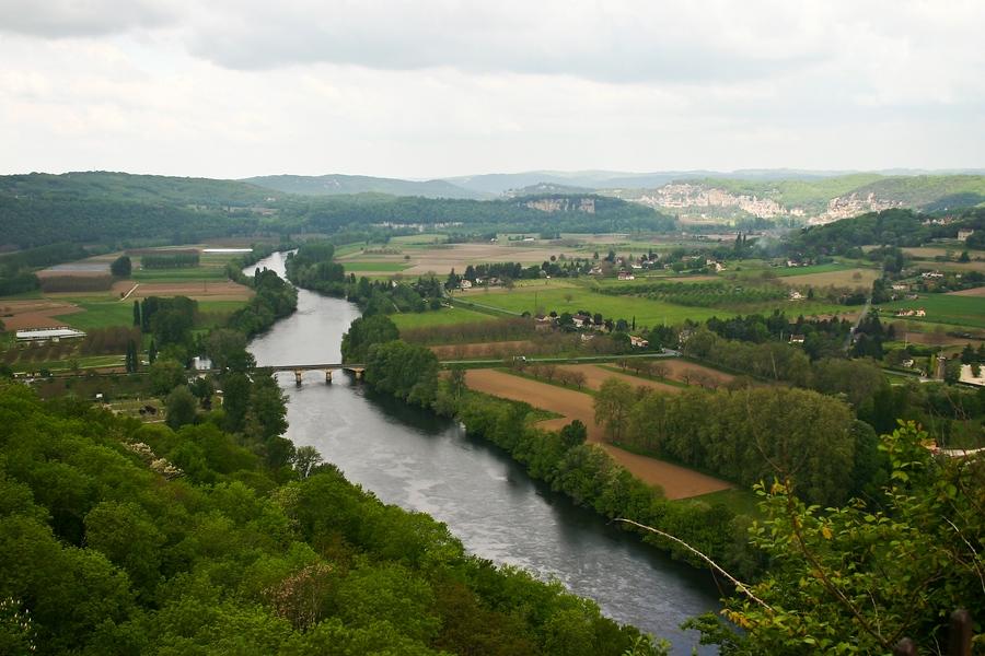 Die Dordogne bei Domme